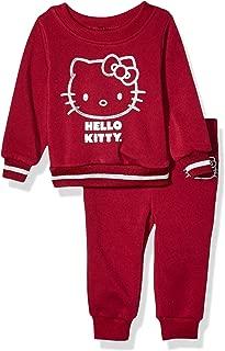 Hello Kitty Baby Girls 2 Piece Sweatshirt and Pant Active Set