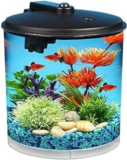 buy_great_deals Aquaview 360 Aquarium Kit with LED Lighting and Internal Filter, 2-Gallon
