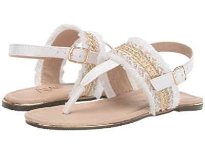 Amiana 15-A5528 (Toddler/Little Kid/Big Kid/Adult) (White Chain) Girl