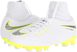 Nike Kids Jr. Hypervenom Phantom 3 Academy Dynamic Fit FG Soccer (Little Kid/Big Kid)