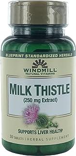 Windmill Milk Thistle 250 mg Tablets 30 Tablets