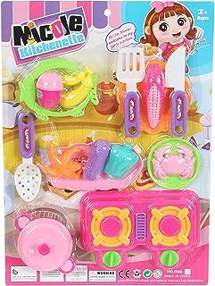 لعبة ادوات المطبخ للاطفال من فيلون، 15 قطعة - متعددة الالوان