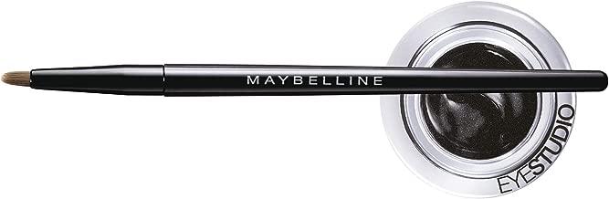 Maybelline New York Makeup Eyestudio Lasting Drama Gel Eye Liner, Blackest Black, Waterproof, 0.106 oz