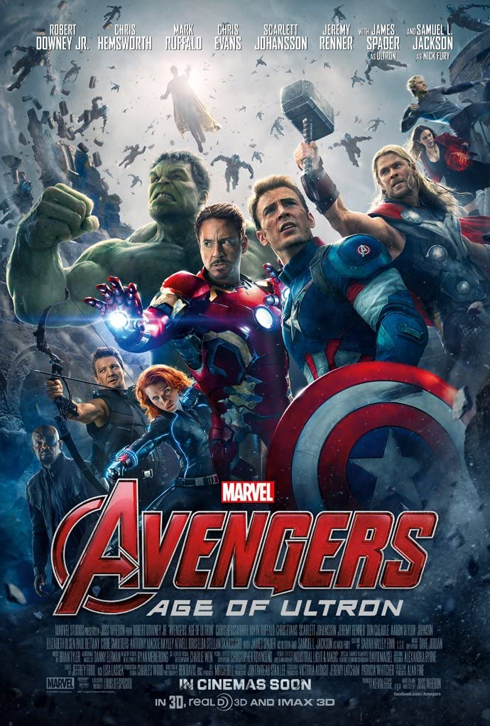 Amazon.com: AVENGERS AGE OF ULTRON MOVIE POSTER 2 Sided ORIGINAL INTL FINAL  27x40: Posters & Prints