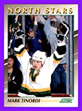 1991-92 Score Young Superstars #18 Mark Tinordi MINNESOTA NORTH STARS