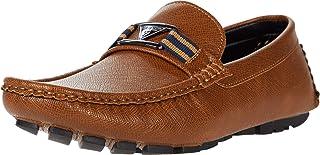 حذاء GUESS رجالي بدون كعب بنمط قيادة سهل الارتداء