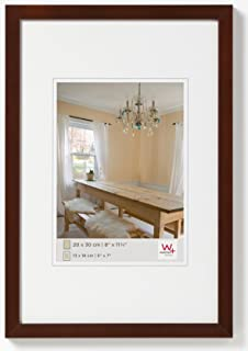 Walther Peppers BP430N Wooden Picture Frame, Walnut, 24 x 30 cm