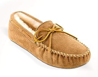 Minnetonka  Sheepskin Softsole Moccasin, Mocassins (loafers) homme - Beige - Beige (marron clair), 49