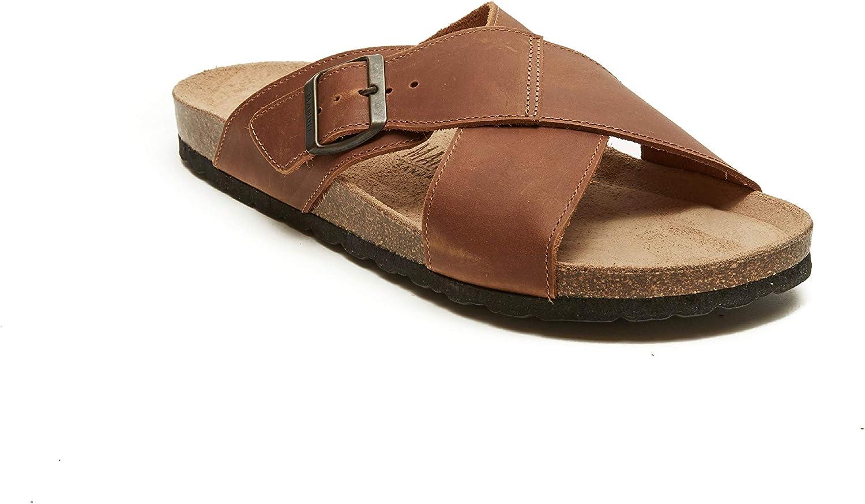 Mandèl Men's SANDALO Fashion Sandals Brown Brown