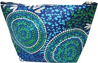 Bag Cosmetic Aboriginal Design - Wet Design - Luther Cora