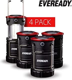 Eveready 360 LED Camping Lantern, Super Bright, Long-Lasting Run-time, Battery Powered Outdoor LED Lantern - Built for Camping, Hiking, Emergency, Storm