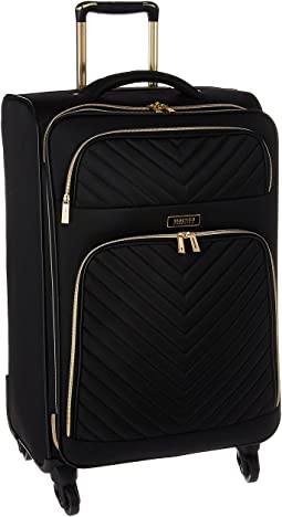 "Chelsea - 24"" Quilted Expandable 4-Wheel Upright Pullman"