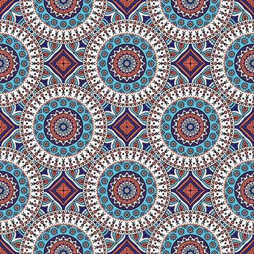 20 Stück Serviette 33x33 cm Orientalisches Muster Indien zeitlos
