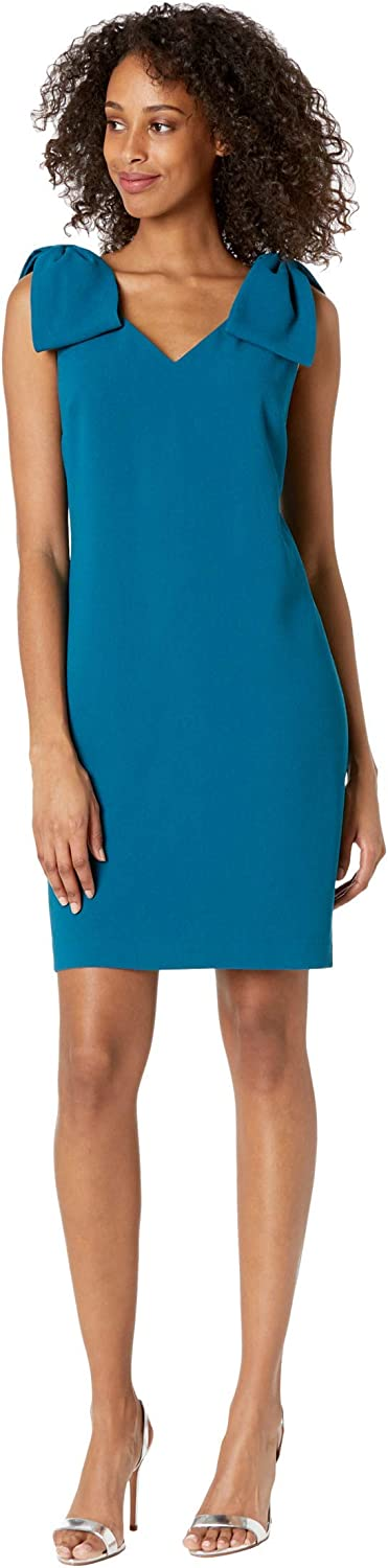 Trina Turk Super beauty Dealing full price reduction product restock quality top Women's Dress Shoulder Bow