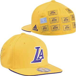 Adidas Los Angeles Lakers 16X Nba Champs Ring Ceremony On-Court Cap