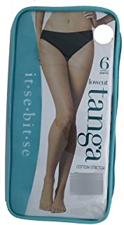 ESUNFON LowCut Ladies Panties 6 Pack, S/M / L/XL (Color May Vary)