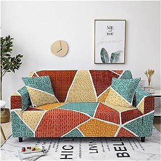 Bankhoes 1 2 3 4-zits bankhoezen Stretch hoezen Bankhoezen Polyester spandex meubelbeschermer met antislip schuim Elastisc...