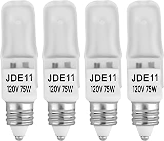 Replacement for Light Bulb//Lamp 75q//cl//mc-130v Light Bulb by Technical Precision 4 Pack