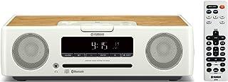 YAMAHA雅马哈 台式音响组合系统 CD/USB/广角FM?AM无线电收音机/蓝牙aptX AAC对应 时钟音频 白色 TSX-B235(W)