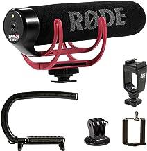 Cam Caddie Scorpion EX + Rode VMGO Microphone Bundle for GoPro & DSLR Camera: Canon,Nikon,Sony,Blackmagic