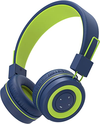 iClever BTH02 Kids Headphones, Kids Wireless Headphones with MIC, 22H Playtime, Bluetooth 5.0 & Stereo Sound, Foldabl...