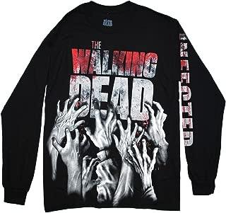 Walking Dead The Men's Zombie Infected Hands Long Sleeve Shirt