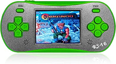 FAMILY POCKET Handheld Game Player for Kids Adults, RS16 Portable Classic Game Controller Built-in 260 Game 2.5 inch LCD Retro Arcade Video Game System Children's Birthday Gift