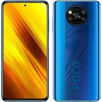"Poco X3 NFC (Pantalla AMOLED de 6,67"" FHD+, DotDisplay, 6GB+128GB, Cámara cuádruple de 64MP, Snapdragon 732G, 5160mAh con Carga de 33W, MIUI 12 para Poco, NFC) Azul Cobalto"