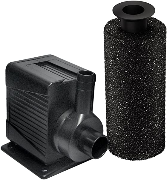 Beckett Corporation Beckett DP400 400 GPH Pump For Ponds And Fountains Black