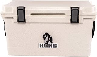 KONG Coolers | 50 Quart Rotomolded | Proudly Made in The USA | Durable, Safe, No-Slip Feet, Extended Ice Retention Cooler