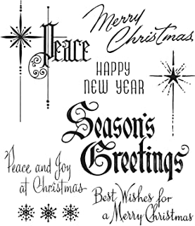 Stampers Anon CMS387 Cling RBBR Stamp Set MISF Merry Misfits Tim Holtz