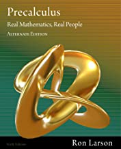 Bundle: Precalculus: Real Mathematics, Real People, Alternate Edition, 6th + WebAssign Printed Access Card for Larson's Algebra and Trigonometry: Real ... Real People, 6th Edition, Single-Term