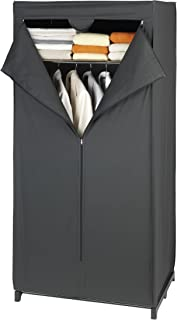 Wenko 43821020100 Armoire Penderie Deep Black 160 x 75 x 50 cm