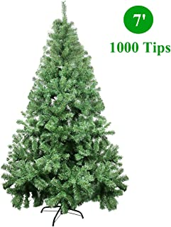CelebrationLight Christmas Tree - Xmas Tree - Artificial Christmas Pine Trees - 1000 Branch Tips for Lush Looking - 3 Separable Sections - Tree Stand - Holiday Decorations - 7ft Christmas Tree
