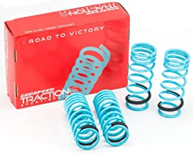 Godspeed LS-TS-LS-0004 Traction-S Performance Lowering Springs, Reduce Body Roll, Improved Handling, Set of 4