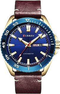 Curren 8272 Watch Men Luxury wristwatches Quartz Watch Fashion Casual