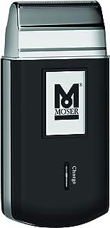 ماكينة حلاقة محمولة لاسلكية | مزودة برقاقة معدنية مخرمة لحلاقة فائقة النعومة من موزر، لون اسود، مقاس صغير موديل 1327-3615