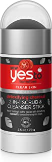 acne face scrub by Yes To