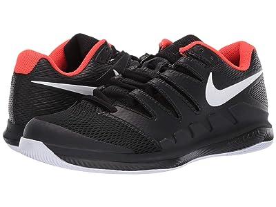 Nike Air Zoom Vapor X (Black/White/Bright Crimson) Men