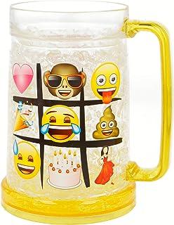 28,3/gram smiley Emoji plastica bicchieri da shot party 1/confezione da 20