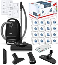 Miele Complete C3 Kona HEPA Canister Vacuum Cleaner with SEB228 Powerhead Bundle - Includes Miele Performance Pack 16 Type...