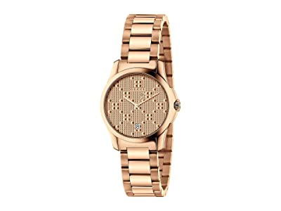 Gucci G-Timeless YA126567 (Rose Gold) Watches