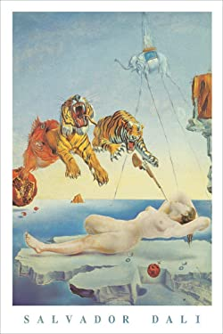Dream Caused by A Bee Flight by Salvador Dali - Art Poster 24in x 36in