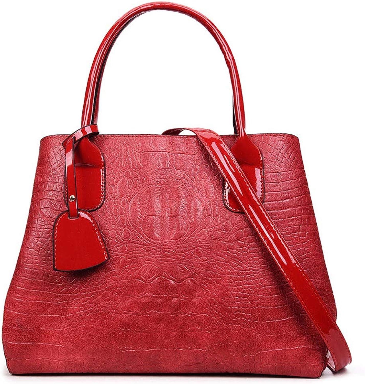 Qiruian Damen Handtaschen Schultertaschen PU Leder Messenger Tote Tasche Mode Mode Mode Crossbody Umhängetasche Retro B07QGW64B6  Am praktischsten ae4cfb