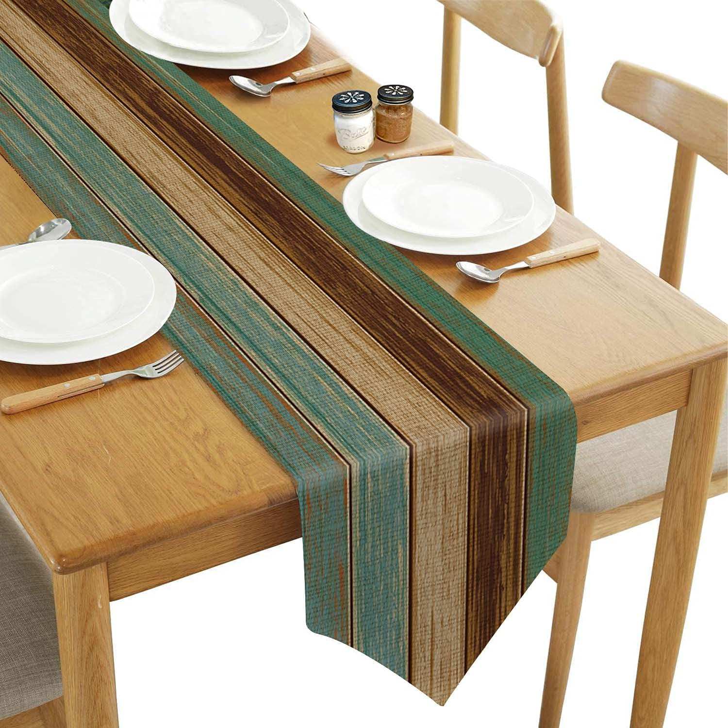 ATEDEANEI Dining Max 55% OFF Table Runner,Cotton Farmhous Kitchen Linen Selling and selling