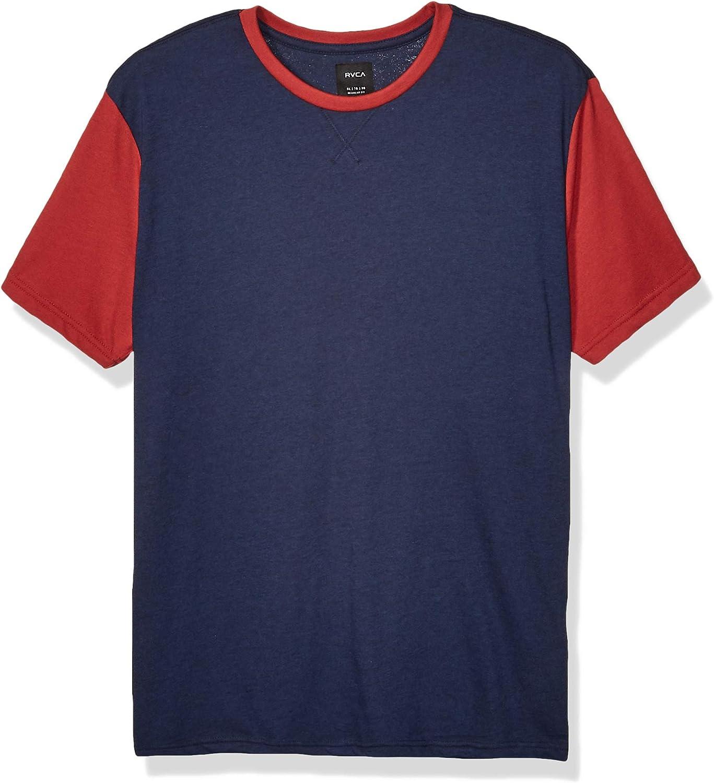 RVCA Men's Pick Up Short Sleeve Crew Neck Shirt