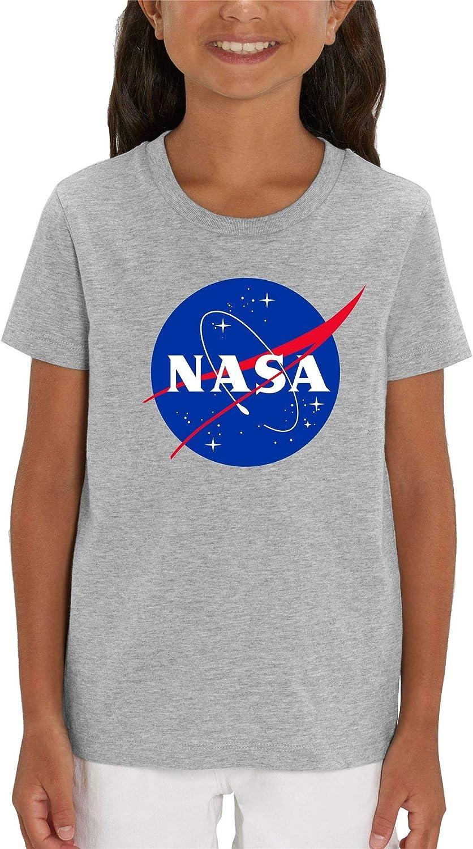 NASA Classic Logo Children's Unisex Grey T-Shirt