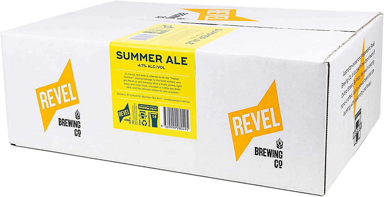 Revel Summer Ale Case (24 x 375ml)