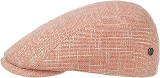 Lierys Coppola Delamon Uomo - Made in Italy Cotton cap Cappello Piatto Berretto Estivo con Visiera, Fodera, Fodera Primave...