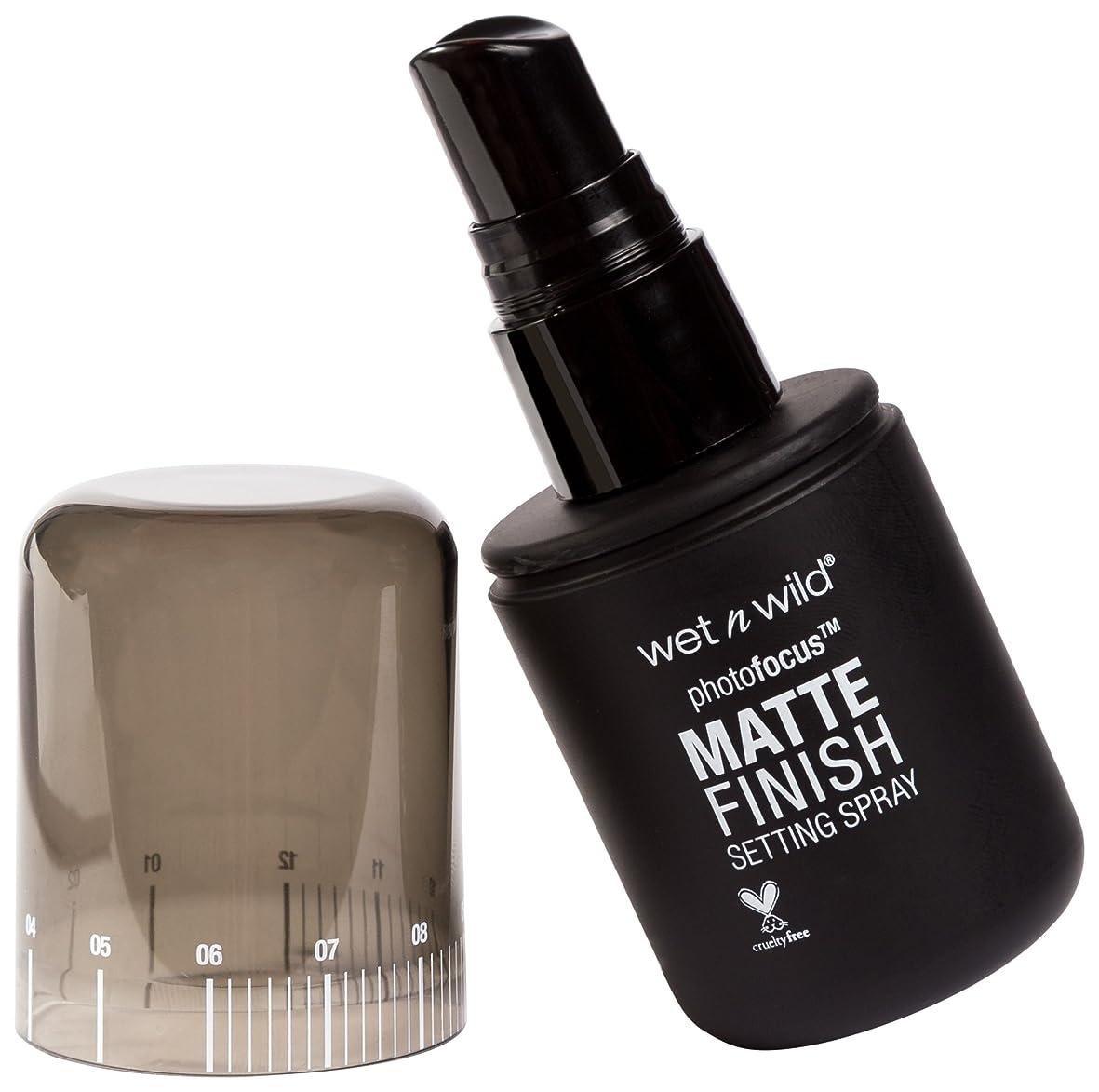 気味の悪いスモッグ回るWET N WILD Photo Focus Matte Finish Setting Spray - Matte Appeal (並行輸入品)